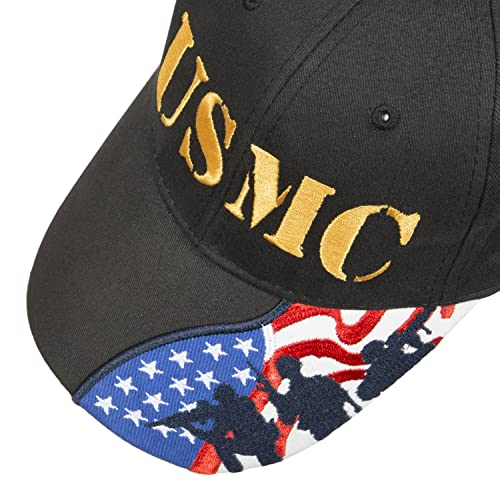 b74f43989f0 Army Force Gear Embroidered Marine Corps USMC Baseball Cap Hat