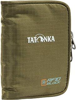 Tatonka Zip Money Box RFID B - Geldbörse mit RFID-Blocker - TÜV-geprüft - Bietet Platz für 4 Kreditkarten, mit Münzgeldfac...