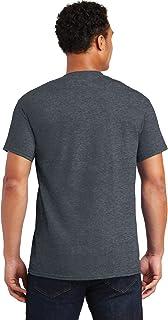 Gildan mens Ultra Cotton Adult Pack fashion t shirts, Darkheather/Purple, Large US