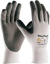 G-TEK Maxifoam 34-800 Premium Seamless Knit Gray Foam Nitrile Coated Gloves (Small)
