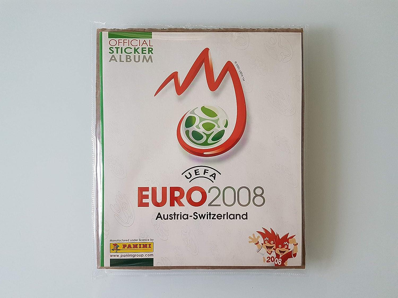 Panini EURO 2008 2008 2008 - Komplettsatz aller Sticker  Leeralbum B018AX0TEU | Überlegene Qualität  902cc8