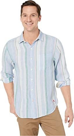 Break Line Stripe Shirt
