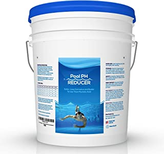 Pool & Spa pH Reducer | pH Down | Sodium Bisulfate | Muriatic Acid Replacement - 50 lb Pail