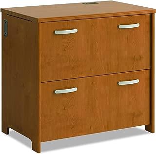 Bush Furniture 2-Drawer File, Natural Cherry