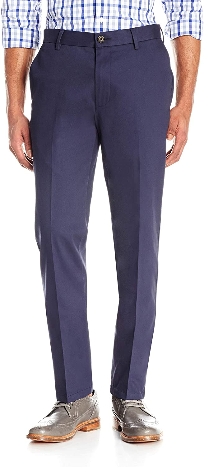 Brand - Goodthreads Men's Slim-Fit Wrinkle-Free Comfort Stretch Dress Chino Pant: Clothing
