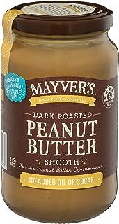 Mayvers Smooth Dark Roast Peanut Butter, x