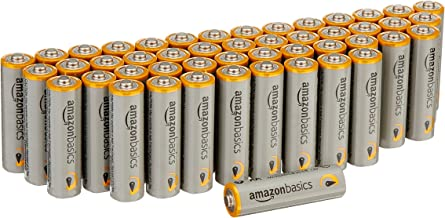 AmazonBasics AA 1.5 Volt Performance Alkaline Batteries - Pack of 48