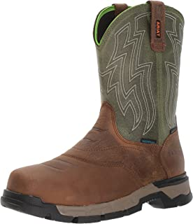 Ariat Work Men's Rebar Western H2O Composite Toe Work Boot