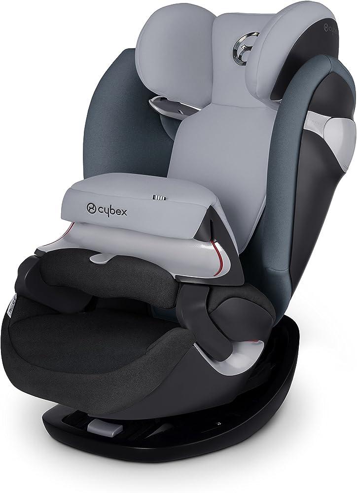 Cybex  pallas m, seggiolino auto moon dust-dark grey per bambini  dai 9 mesi ai 12 anni circa 515112008