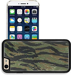 Liili Apple iPhone 6 iPhone 6S Aluminum Backplate Bumper Snap iphone6/6s Case iPhone6 IMAGE ID: 20126844 US vietnam green tigerstripe camouflage fabric texture background