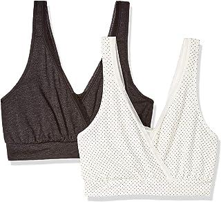 Women's Nursing Pullover Sleep Bra 2-Pack