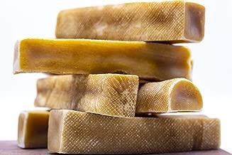 Yak Cheese Himalayan Chew - Himalayan Yak Milk - Natural Yak Cheese Chew, Long Lasting Dog Treats for Aggressive Chewers - 1 Pound