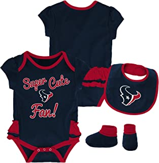 Outerstuff NFL Baby-Girls Newborn   Infant Mini Trifecta Bodysuit fcb0b1329