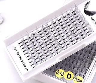 NEW 3D/4D/5D/6D/10D Russian Volume Eyelashes Extension Short Stem Pre made Fans C/D curl Mink Lash Eyelash Individual Extensions,D,0.10mm,12mm,4D