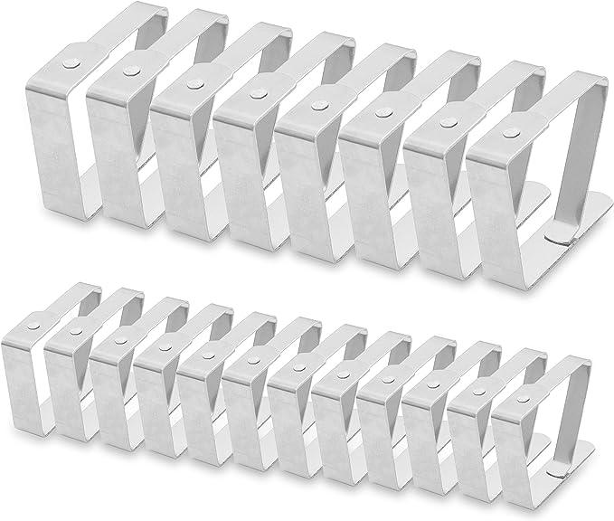 90 opinioni per BELLE VOUS Ferma Tovaglie (Confezione da 20)-12 Piccole (4.5 x 4 cm), 8 Grandi