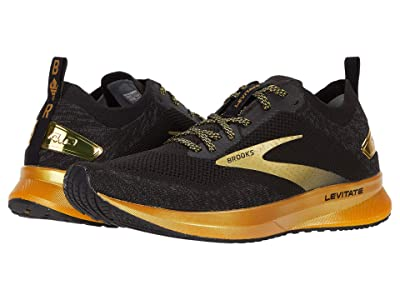 Brooks Levitate 4 (Black/Gold) Women