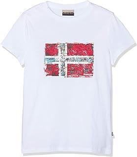 K Seitem Bright White Camiseta para Niños