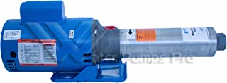 Goulds 7GBS10 High Pressure Multi-stage Booster Pump, 1 HP, Single Phase, 115-230 V, ODP Enclosure, 16 Stages