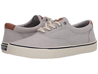 Sperry Striper II CVO Gingham (Grey) Men
