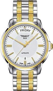 Orologio Tissot Automatics III T0659302203100 Automatico Acciaio Quandrante Bianco Cinturino Acciaio