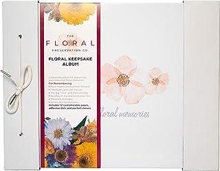 Floral Preservation Album, Scrapbooking Photo Album Developed with David Tutera The Celebrity Wedding Planner, Preserves M...