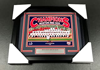 2018 BOSTON RED SOX WORLD SERIES CHAMPIONS TEAM PHOTO #4 FRAMED 8X10