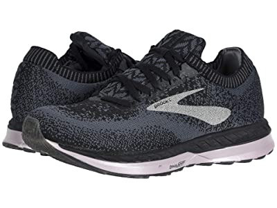 Brooks Bedlam (Black/Black/Rose) Women
