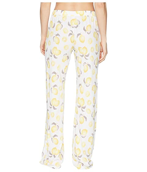 P.J. Salvage Playful Prints Lemon Pants Ivory Clearance Purchase Sale Footlocker Pictures PXjs3Z