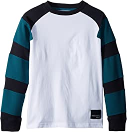 adidas Originals Kids - Equipment Long Sleeve Tee (Little Kids/Big Kids)