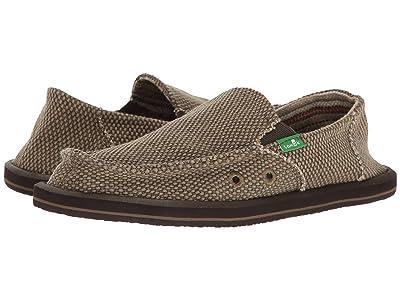 Sanuk Kids Vagabond (Little Kid/Big Kid) (Brown) Boys Shoes