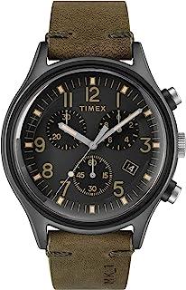 ساعة تايم اكس جلد بني -TW2R96600