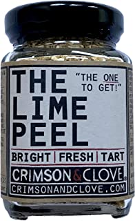 Granulated Lime Peel by Crimson and Clove (1.7 Oz.)
