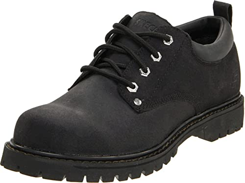 Skechers USA Hommes's Alley Cat Utility Oxford,noir,8 M US