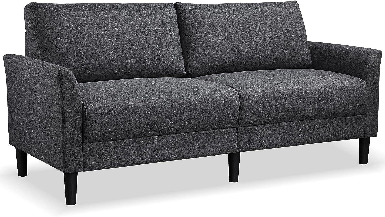 YAHEETECH Sales for sale 75.5'' Living Room Pillow-top Back Loves Arlington Mall Set