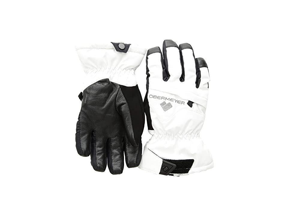 Obermeyer Kids Lava Gloves (Little Kids/Big Kids) (White) Extreme Cold Weather Gloves