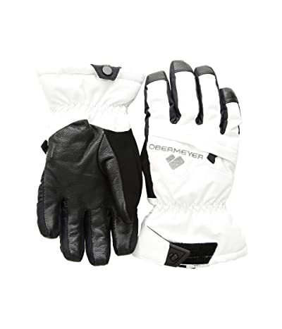 Obermeyer Kids Lava Gloves (Little Kids/Big Kids) (White) Extreme Cold Weather Gloves