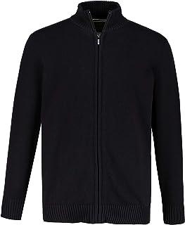 JP 1880 Menswear Big & Tall Plus Size L-8XL Zip Front Classic Cardigan 717032