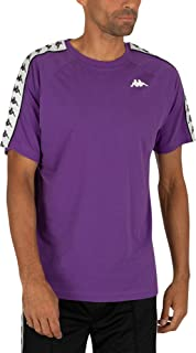 Kappa Mens 222 Banda Coen Cotton Crew Neck T-Shirt