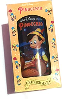 WALT DISNEY CLASSIC COLLECTOR SERIES PINOCCHIO Tumbler Cup GLASS BURGER KING by Burger King