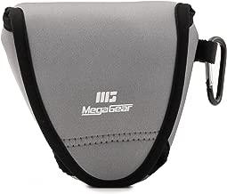 Megagear Fujifilm X-E3 (23mm & 18-55mm) Ultra Light Neoprene Camera Case, with Carabiner - Gray - MG1336