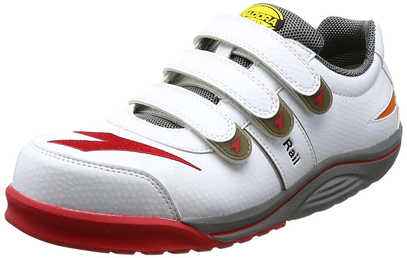織る欠席獲物安全作業靴 JSAA認定 マジックタイプ プロスニーカー RAIL レイル RA11