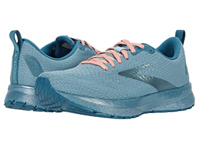 Brooks Revel 4 (Blue/Mallard/Lobster) Women
