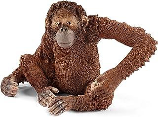 Schleich Wild Life Orangutan Female Educational Figurine for Kids Ages 3-8