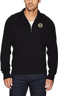 OTS NHL Men's Fleece 1/4-Zip Pullover