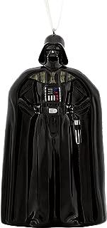 Hallmark Disney Lucas Film Darth Vader Blown Glass Christmas Ornaments, Stormtrooper First Order