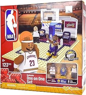 OYO Sports NBA Buildable Playmaker Building Set - Lebron James, Kevin Durant -Bridge Direct