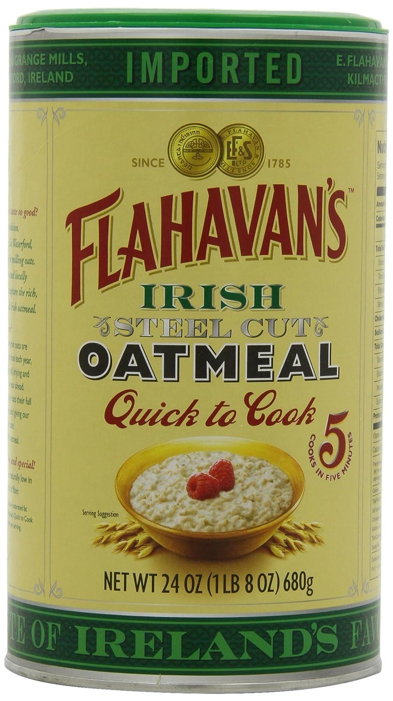 Flahavan's 2021 autumn and winter new Irish Steel Cut Ranking TOP18 Oatmeal Quick 24-ounces Cook Drum To