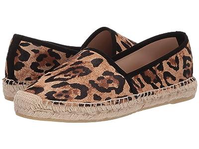 L.K. Bennett Elsie Flat Espadrille (Natural Leopard) Women