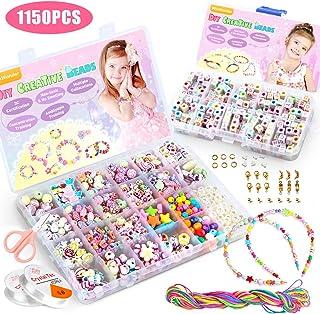 WinWonder Niños Bricolaje Conjunto de Cuentas,1150 PCS
