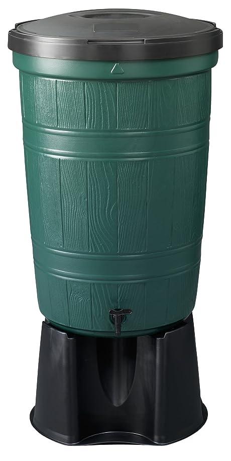 マニュアルクロールバトル英国製雨水タンク BEGREEN 200Lセット 30分で簡単設置!! [Lawn & Patio]